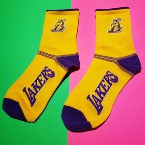 2/$20 Brand new NBA L.A Lakers socks basketball